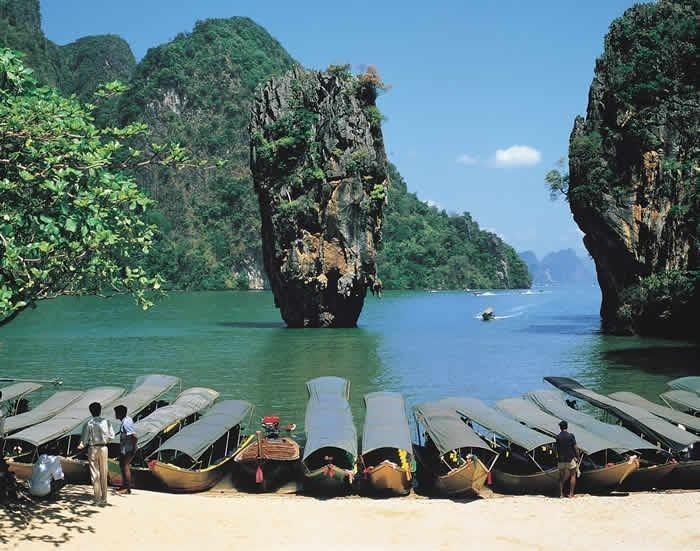 james bond island by big boat alex taxi phuket. Black Bedroom Furniture Sets. Home Design Ideas